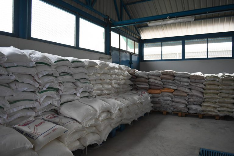 long term rice storage