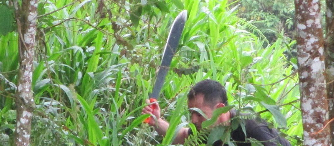 survival machete